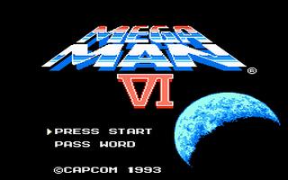 מסע אל העבר - משחקים ישנים - תמונה מתוך המשחק 'Mega Man VI'