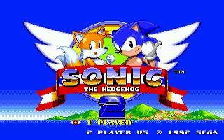 מסע אל העבר - משחקים ישנים - תמונה מתוך המשחק 'Sonic the Hedgehog 2'